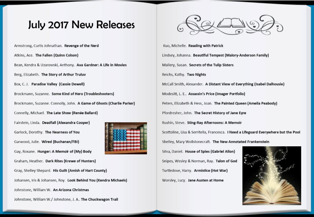 2017 July New Releases Web