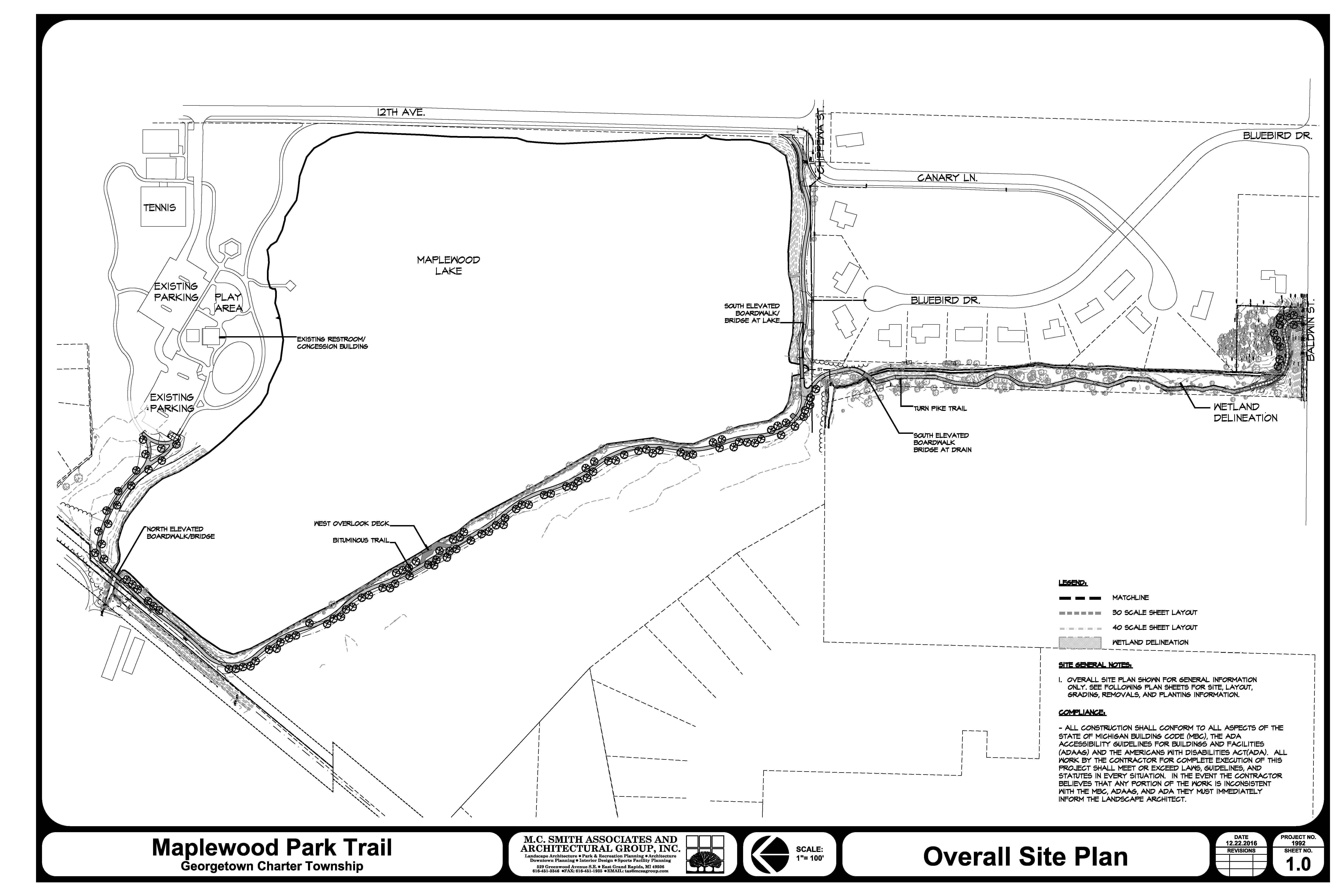 Maplewood Lake Trail Project